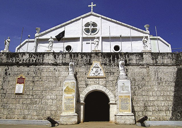 Cuyo Church and Fort